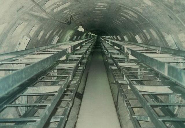 洞道内ケーブルラック