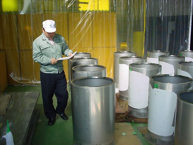 放射性廃棄物収納容器