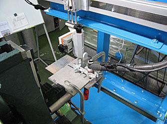 TIG溶接による新工法の開発